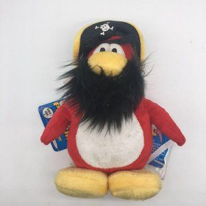 Club Penguin Plush Rockhopper Series 3 coin with T